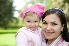 Free Mother And Daughter Stock Photography - 6524192