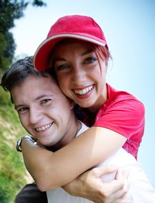 Free Young Happy Couple Stock Images - 6524464