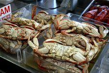 Free Fresh Crabs At Fisherman S Market Royalty Free Stock Image - 6524656