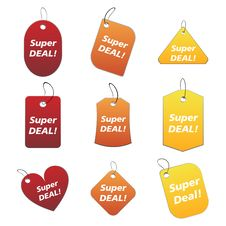 Free Colored Tags - Super Deal Stock Photos - 6524823