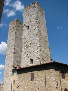 Free Tuscany Towers Stock Image - 6524951