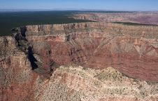 Flight Over Grand Canyon Stock Image