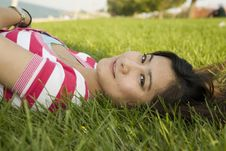 Free Young Asian Woman Stock Image - 6525341
