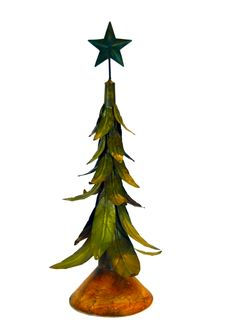 Mettalic Christmas Tree Stock Images