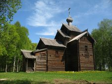 Free Ancient Wooden Church Royalty Free Stock Images - 6525609