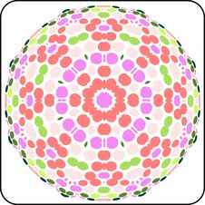 Free Circular Colorful Pattern Royalty Free Stock Photography - 6525627