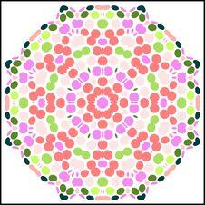 Free Circular Colorful Pattern Royalty Free Stock Photos - 6525628