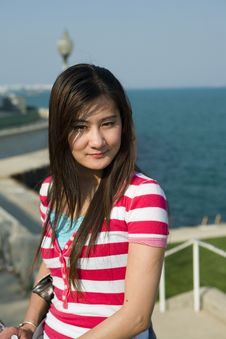 Free Young Asian Woman Stock Photo - 6526080