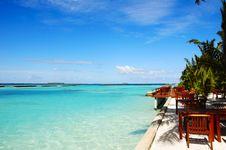 Free Landscape Of Maldivian Island Stock Image - 6526781
