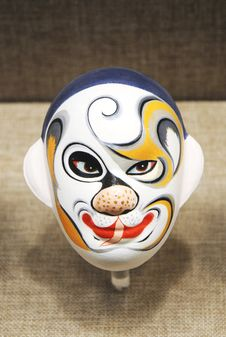 Free Figure Of Beijing Opera Royalty Free Stock Photo - 6527805