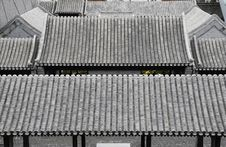 Free Roof Of Chinese Traditional Building Royalty Free Stock Images - 6528119