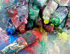 Free Paint Royalty Free Stock Photography - 6528137