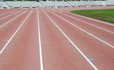 Free Ground Track Field Royalty Free Stock Photo - 6528185