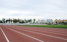 Free Ground Track Field Royalty Free Stock Images - 6528229
