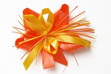 Present Bow Royalty Free Stock Image