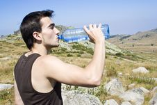 Free Drinking Water Royalty Free Stock Image - 6529156