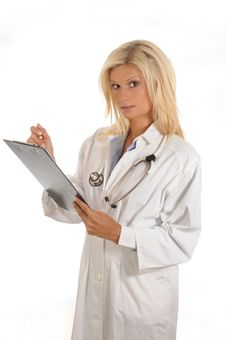Free Female Doctor Stock Photography - 6529552