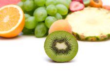 Free Slice Kiwi Royalty Free Stock Photos - 6529718