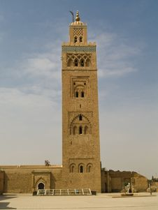 The Koutoubia Mosque Royalty Free Stock Image