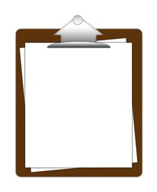 Clipboard Royalty Free Stock Photos