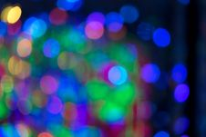 Colorful Abstract Bokeh Light Royalty Free Stock Photography