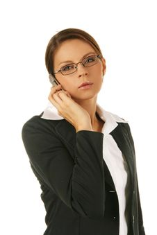 Free Portrait Of A Young Attractive Business Woman. Royalty Free Stock Photos - 6530228