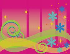 Free Celebration Wave Royalty Free Stock Image - 6530546