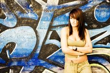 Free Young Woman In Casual Clothing Stock Photography - 6530752
