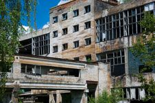 Free Abandoned Chemical Factory Stock Photos - 6531013