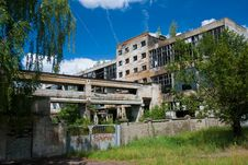 Free Abandoned Chemical Factory Stock Photography - 6531032