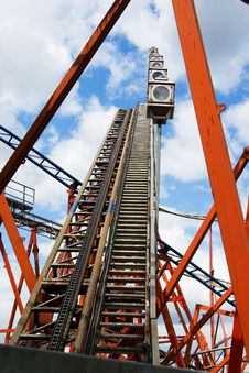 Free Rollercoaster 2 Royalty Free Stock Photography - 6531147