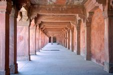 Free Passage Of Agra Fort Stock Photo - 6531710