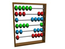 Free Abacus 3d Stock Photography - 6531852