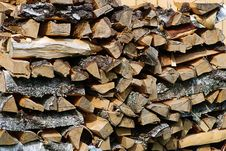 Free Stack (of Firewood) Royalty Free Stock Image - 6531866