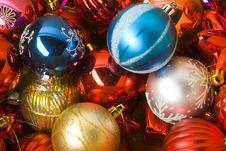 Free Collection Of Cristmas Balls Stock Photos - 6531893