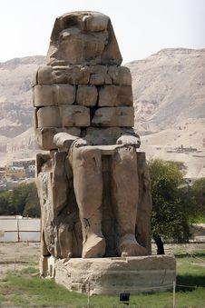 Free Colossi Of Memnon Stock Image - 6532021