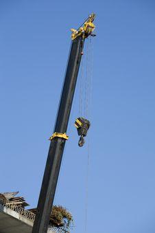 Free Crane And Hook Stock Image - 6532041
