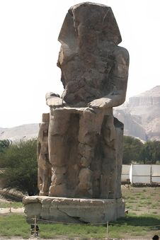 Free Colossi Of Memnon Royalty Free Stock Photography - 6532097