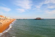 Free Brighton Beach Stock Photos - 6532403
