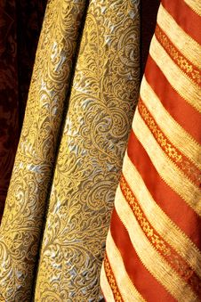 Free Gold Linen Royalty Free Stock Images - 6532709