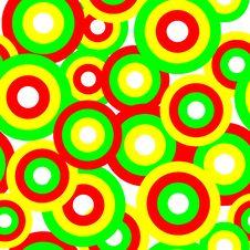 Seamless Circle Patterns Royalty Free Stock Image