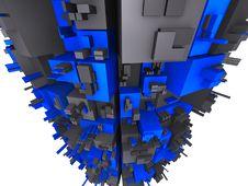 Free Galactic Futuristic Construction Stock Image - 6533111