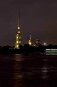 Free PETER AND PAUL FORTRESS Stock Photo - 6533600
