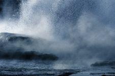 Yellowstone Geyser Royalty Free Stock Photography