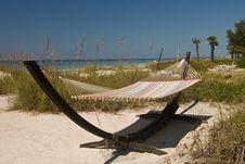 Free Beach Hammock Royalty Free Stock Images - 6534839