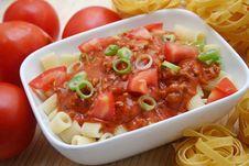 Free Pasta Royalty Free Stock Photo - 6534935