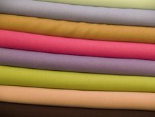 Free Colorful Towels Royalty Free Stock Photos - 6535088