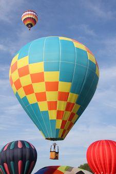 Free Hot Air Balloon Royalty Free Stock Photo - 6536165