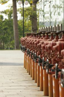 Free Fire Hydrant Stock Photography - 6536412