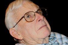 Free Head Shot Of Blue-eyed Senior Stock Photo - 6536780